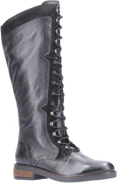 Hush Puppies Rudy Ladies Long Boots Black